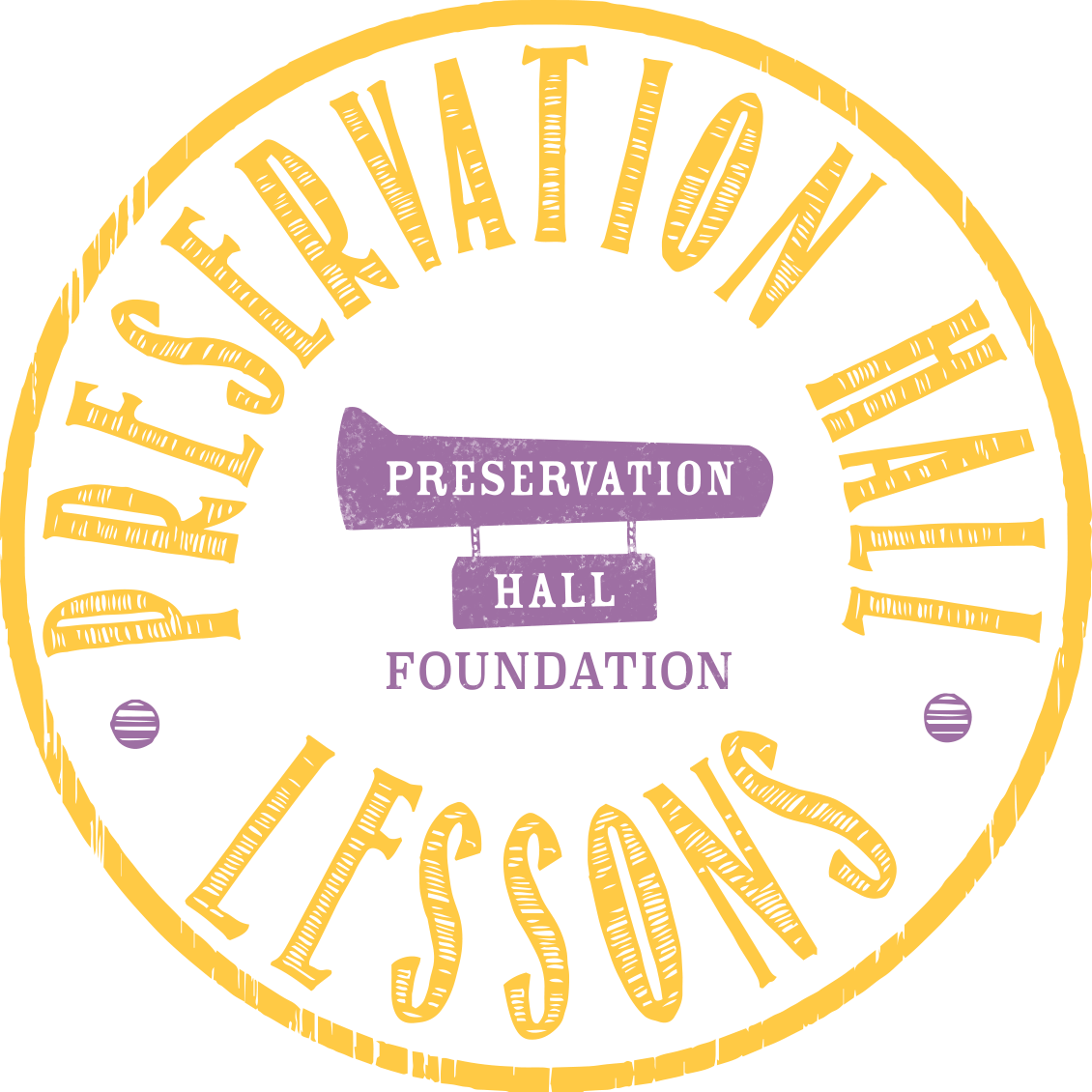 Preservation Hall Lessons Logo