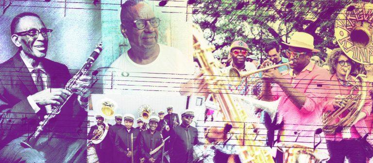 Bourbon Street Parade - Preservation Hall Lessons