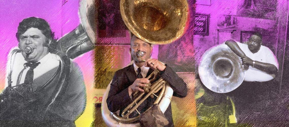 Preservation Hall Lessons – Sousaphone and Tuba Technique with Preservation Hall Sousaphonist Kerry Lewis